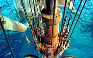 Sea Oil Drilling