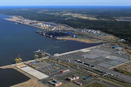 Строительство Балтийского СПГ