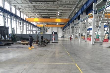 Строительство производственного комплекса Конар