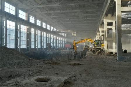 Строительство производства Конар